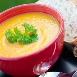 Sweet Potato and Carrot Soup with Cardamom Anna Sally Borys