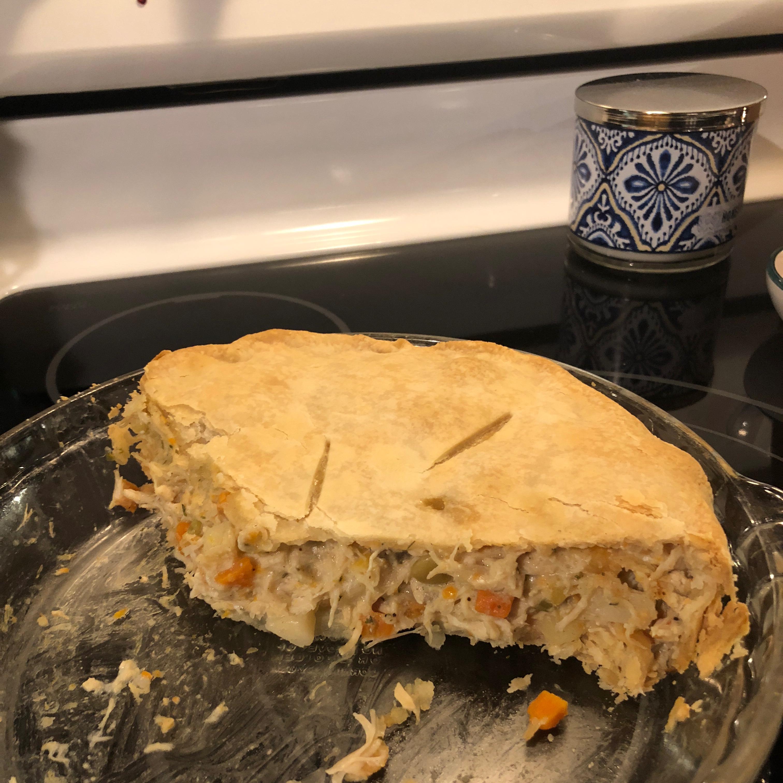 Old Fashioned Chicken Pot Pie ajones360