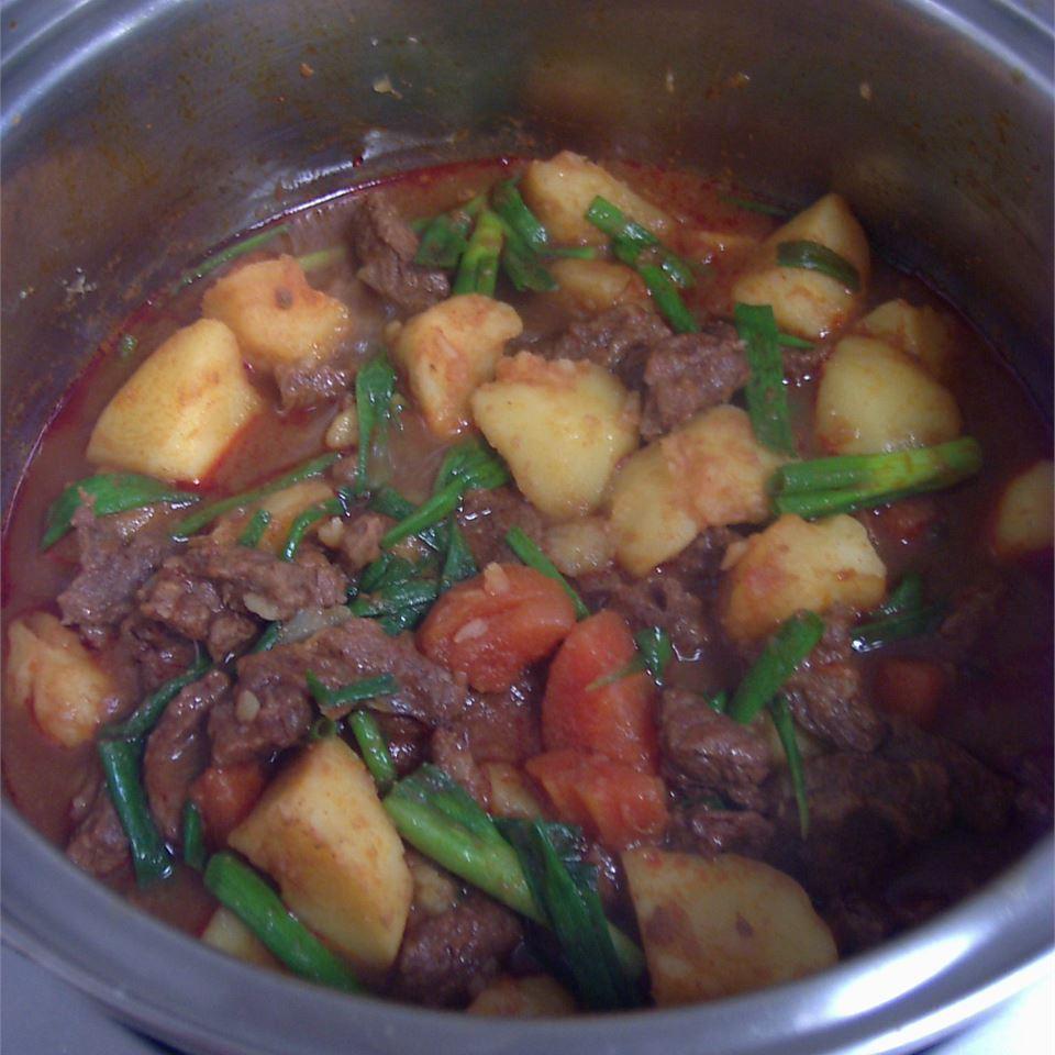 Korean Spicy Chicken and Potato (Tak Toritang) Babycoconut