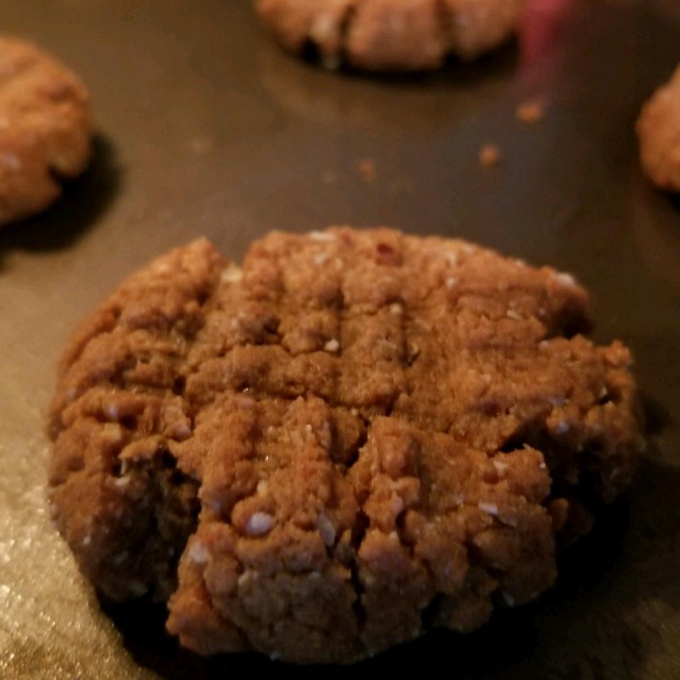 Peanut Butter Bliss Cookies - Vegan, Gluten-Free, No-Sugar-Added Lauren Hunkeler