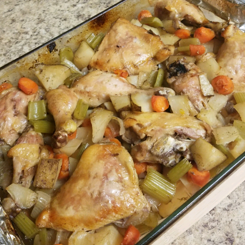 Roasted Vegetable Chicken Britney Nunally