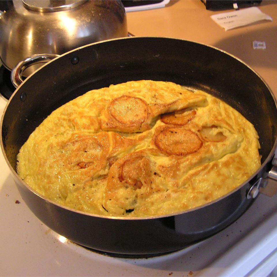 Nan's Potato and Egg Frittata SPARKLE33