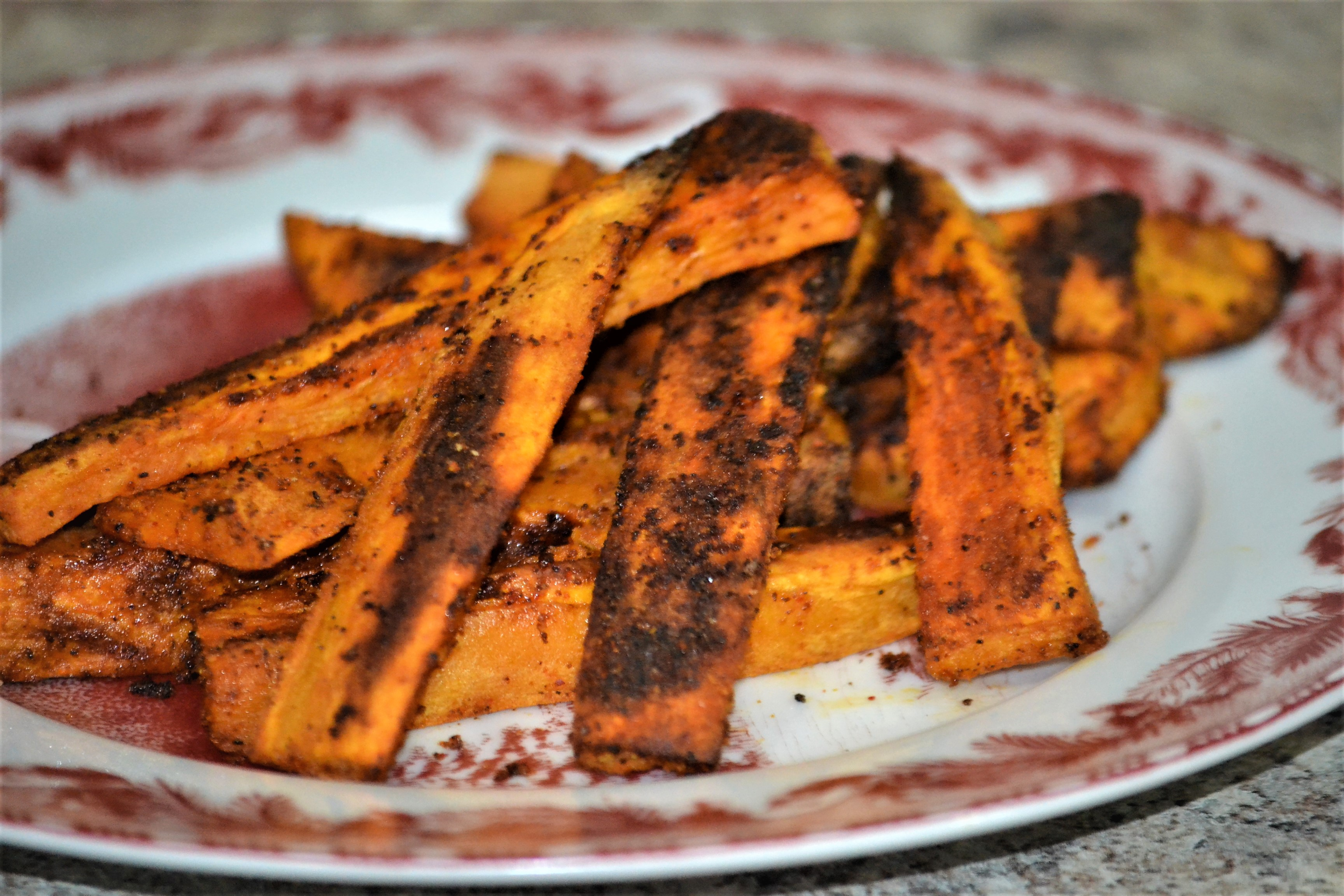 Jan's Chipotle Roasted Sweet Potatoes Kim