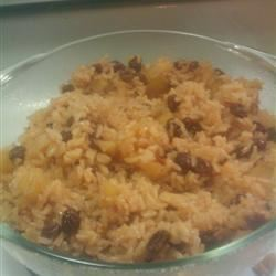 Cinnamon Rice with Apples Khalil Ford