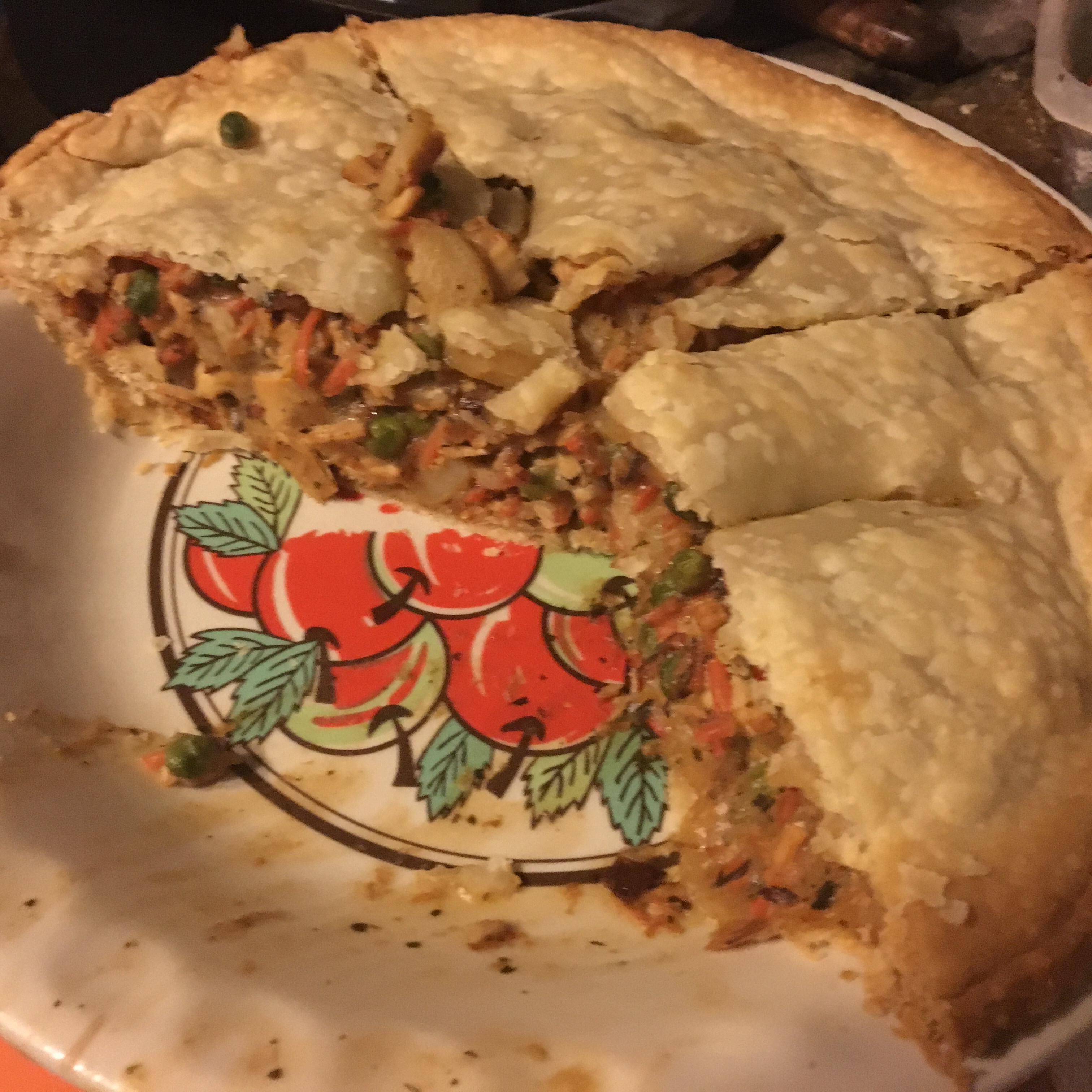 Turkey Pot Pie a la Kat Anna