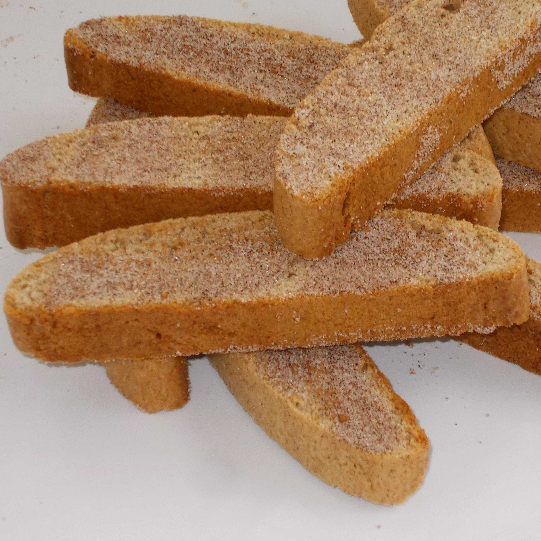 Cinnamon Sugar Biscotti image