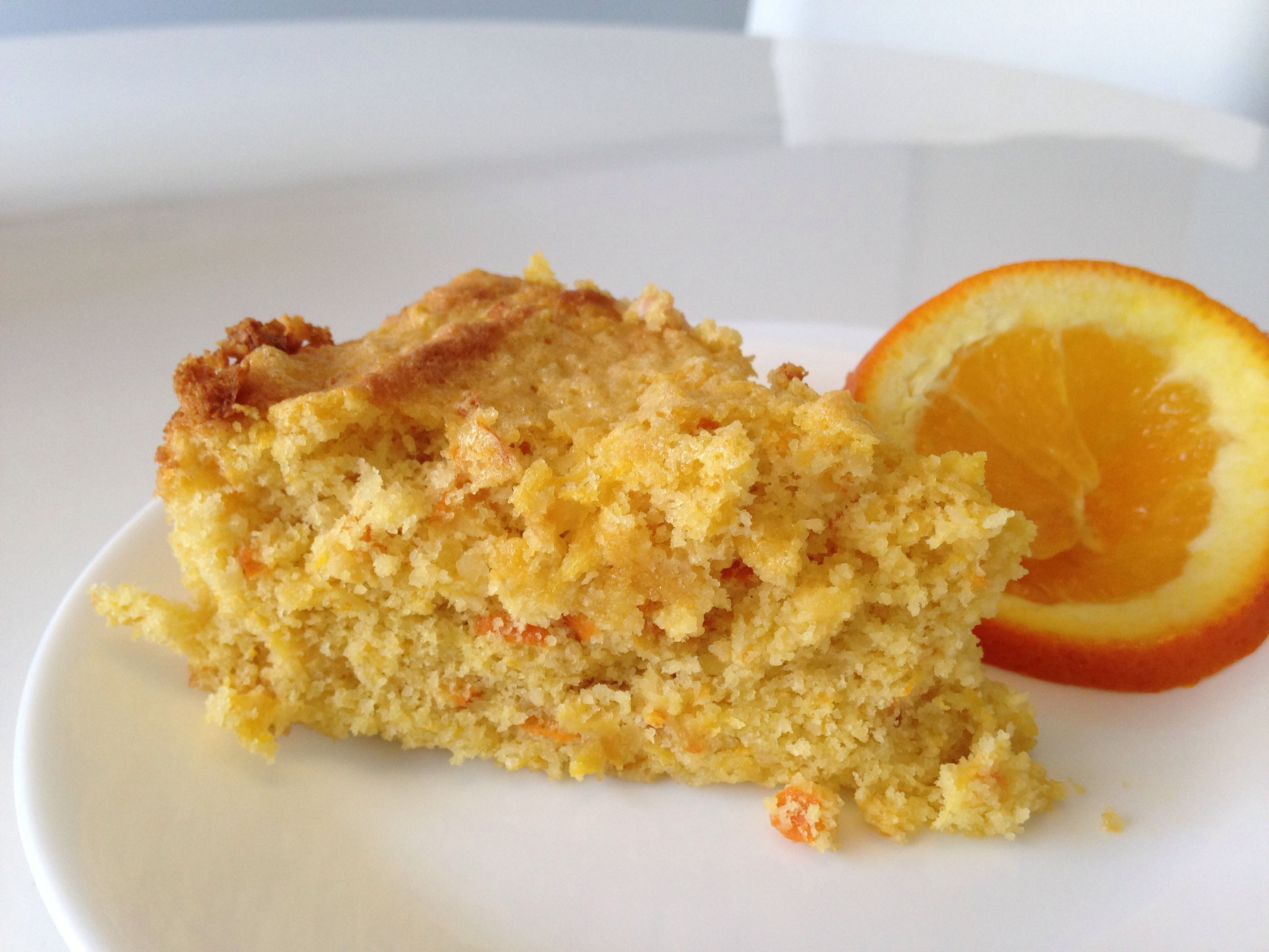 Orange Cake with Semolina and Almonds AllrecipesPhoto