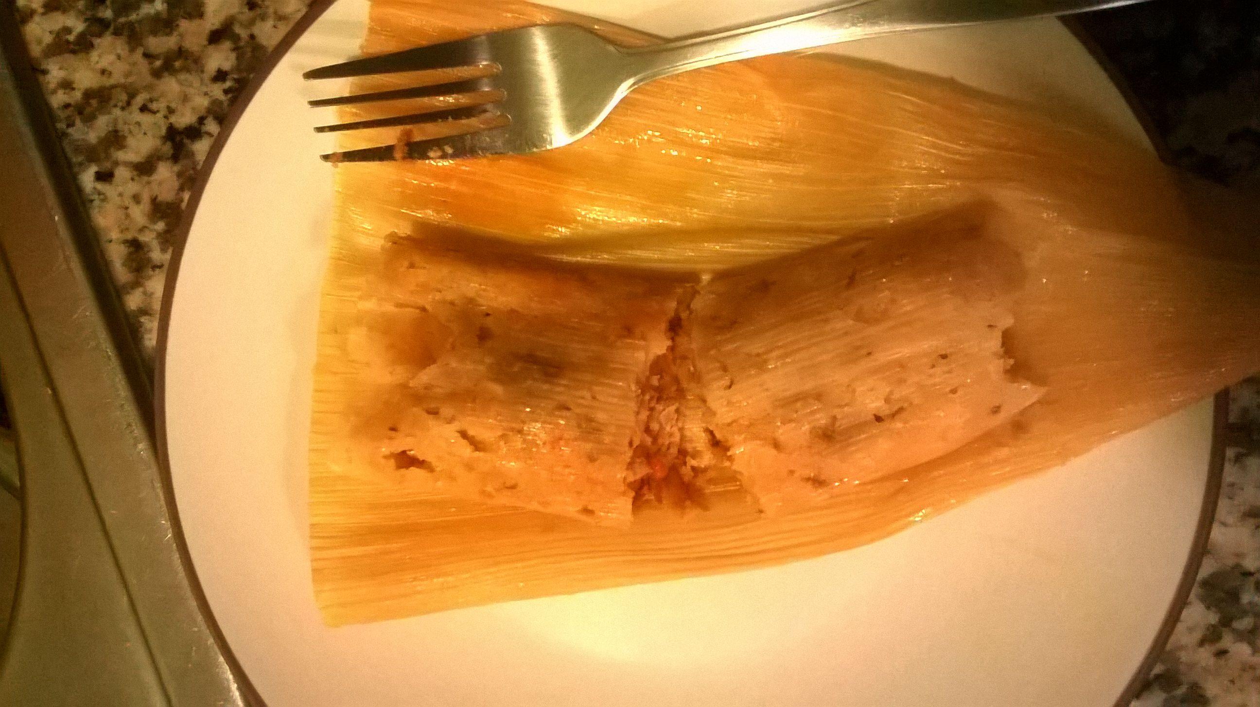 Red Chicken Tamales (Tamales Rojos de Pollo)