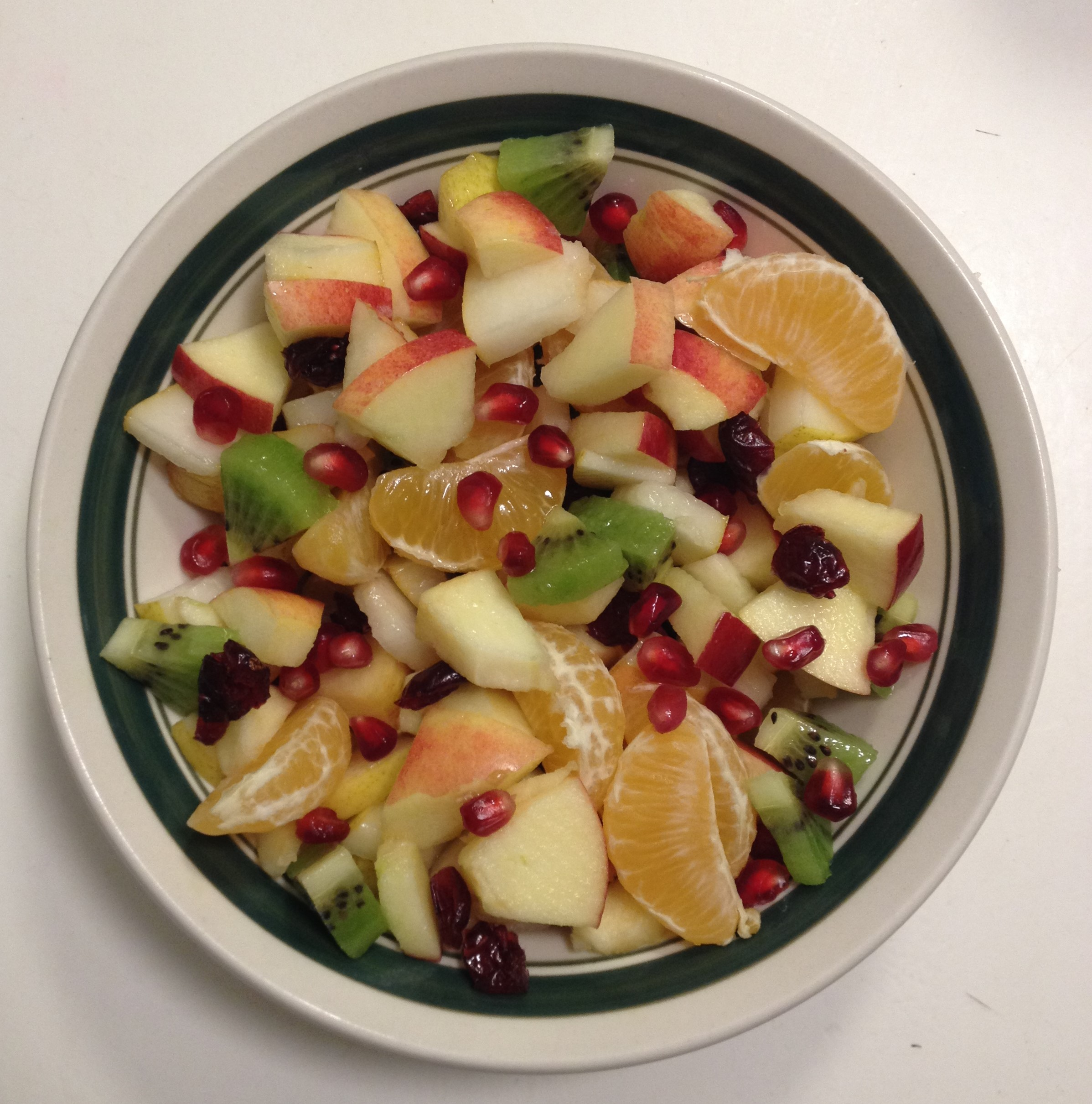 Colorful Winter Fruit Salad
