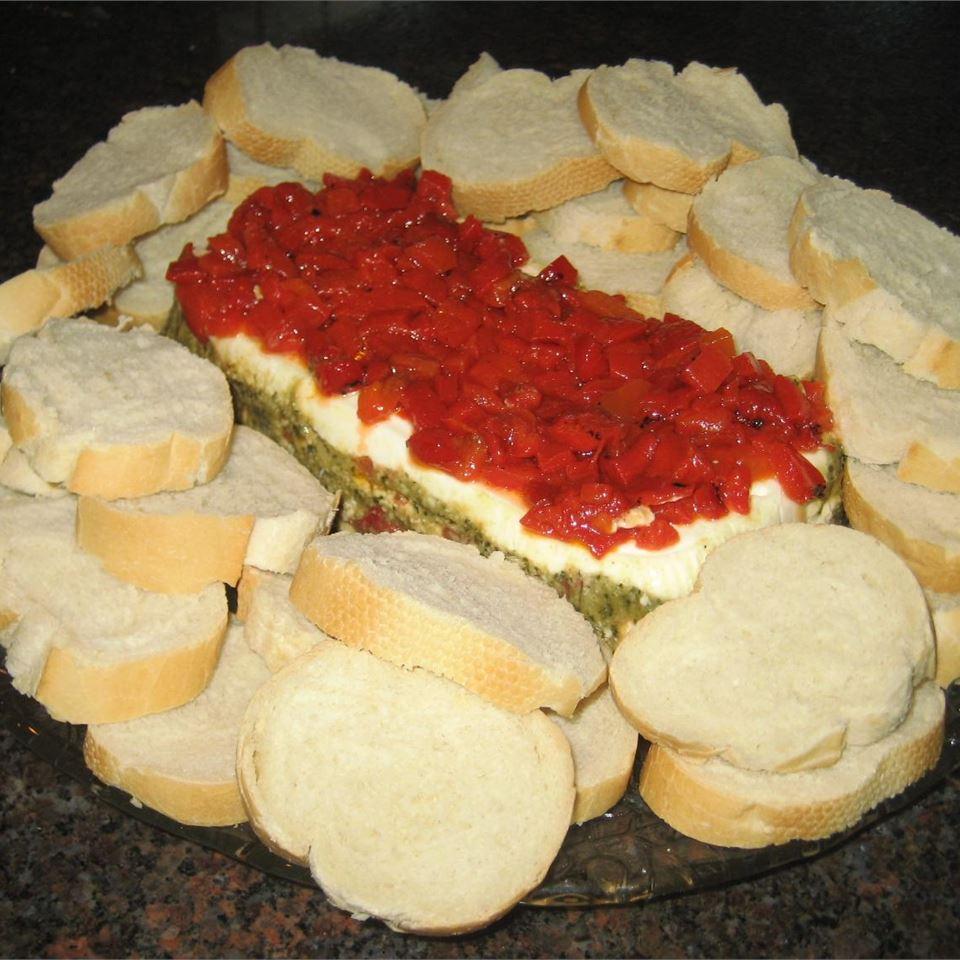 Pesto Torta (Layered Spread) Valerie B