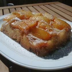 Peach Upside-Down Cake III Saffron