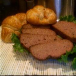 Slow Cooker Sausage 'n' Grits Meatloaf Jane Guzauskas Ruby