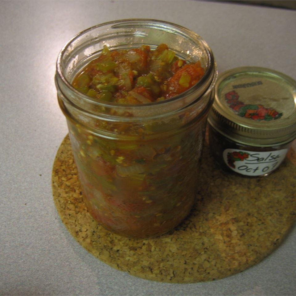 Tomato Salsa Robin Hryniuk