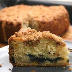 Buttermilk Mango-Berry Crumb Cake FNChef