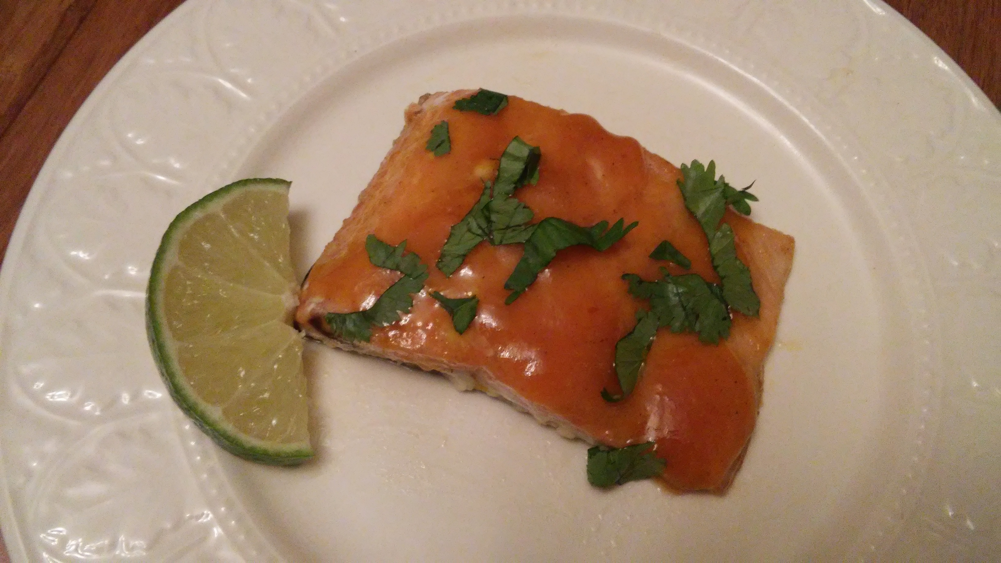 Salmon with Mango and Lime Tammy Lynn