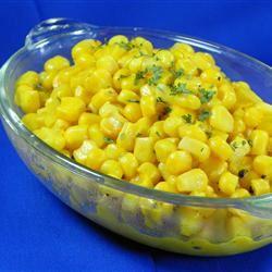 Horseradish Corn on the Cob