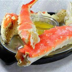 Garlic Crab Legs