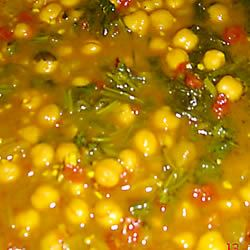 Chickpea Curry Sharon