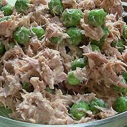 tuna fish pea salad recipe