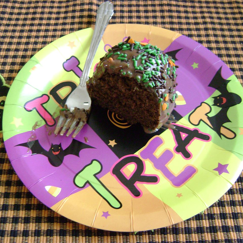 Hot Water Chocolate Cake TERRILEE