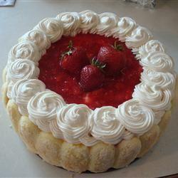 Strawberry Torte cookiemonstar