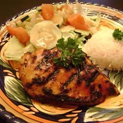 Bessy's Zesty Grilled Garlic-Herb Chicken Nandabear