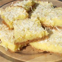 Graham Moist Lemon Bars Foodie Family