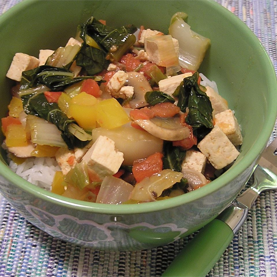 Coconut Curry Tofu CVG