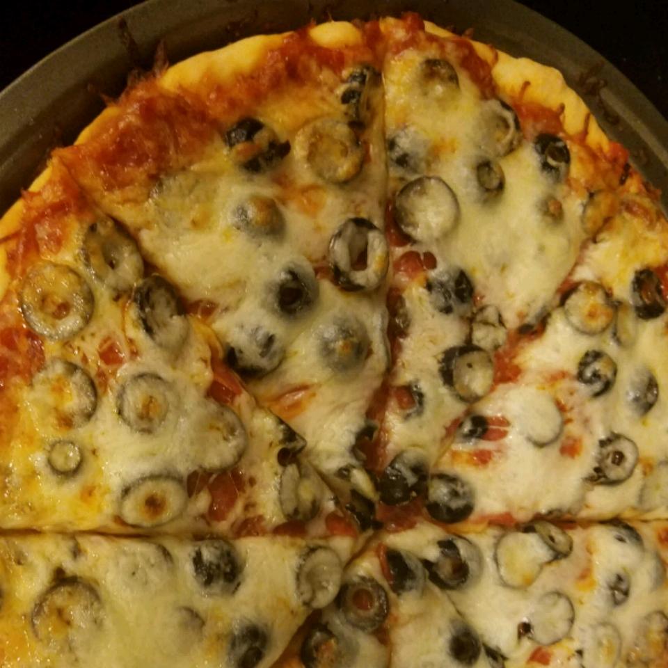 No-Yeast Pizza Crust lizk84