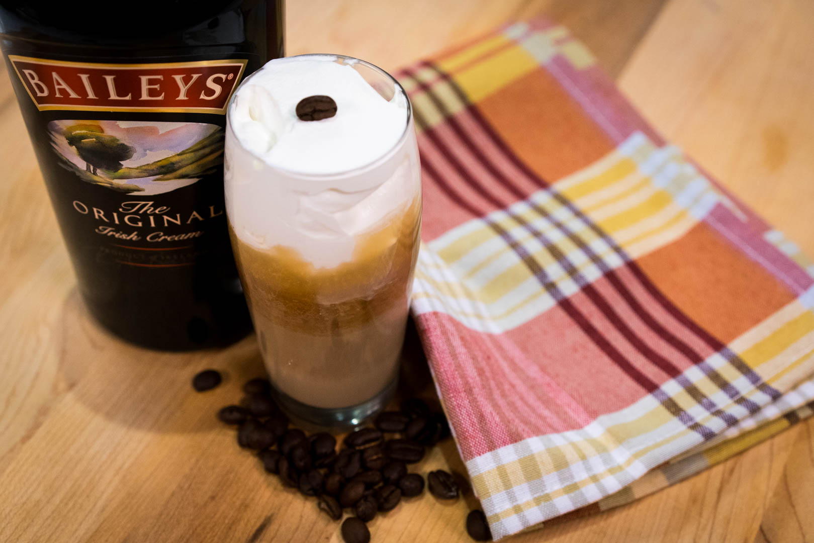 Baileys Layered Coffee Cocktail