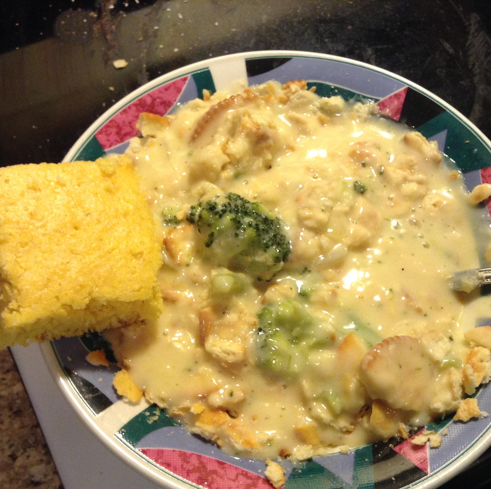 Broccoli Cheese Soup Alicia Faw Clary
