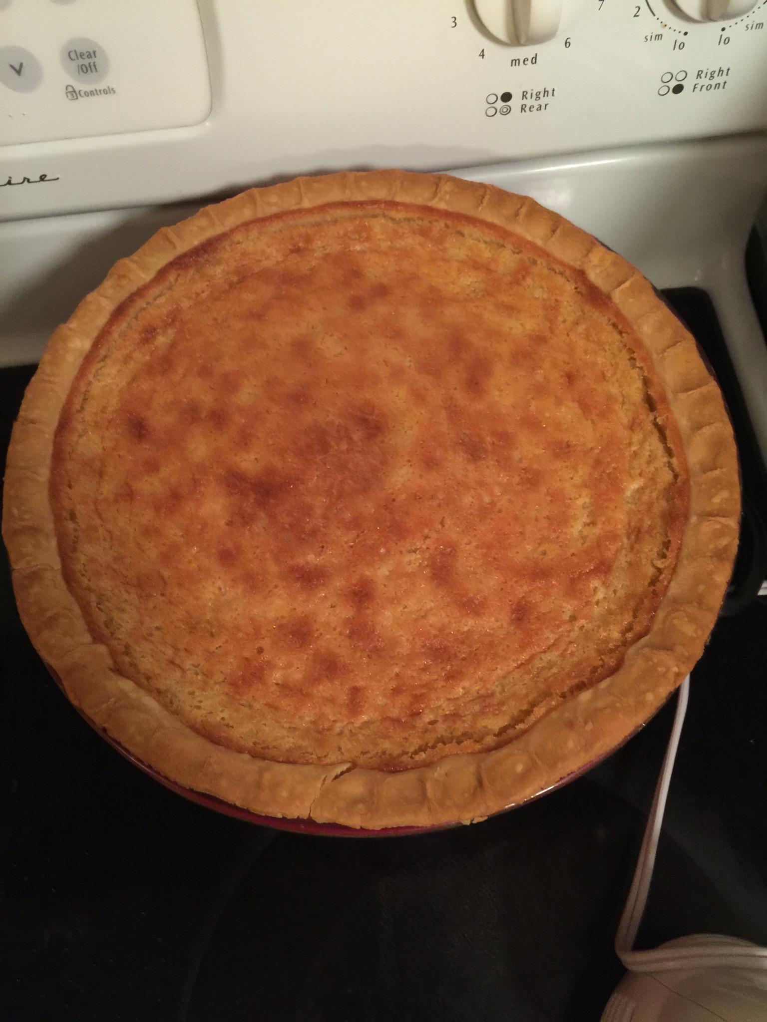 Buttermilk Pie Tammy Roberts