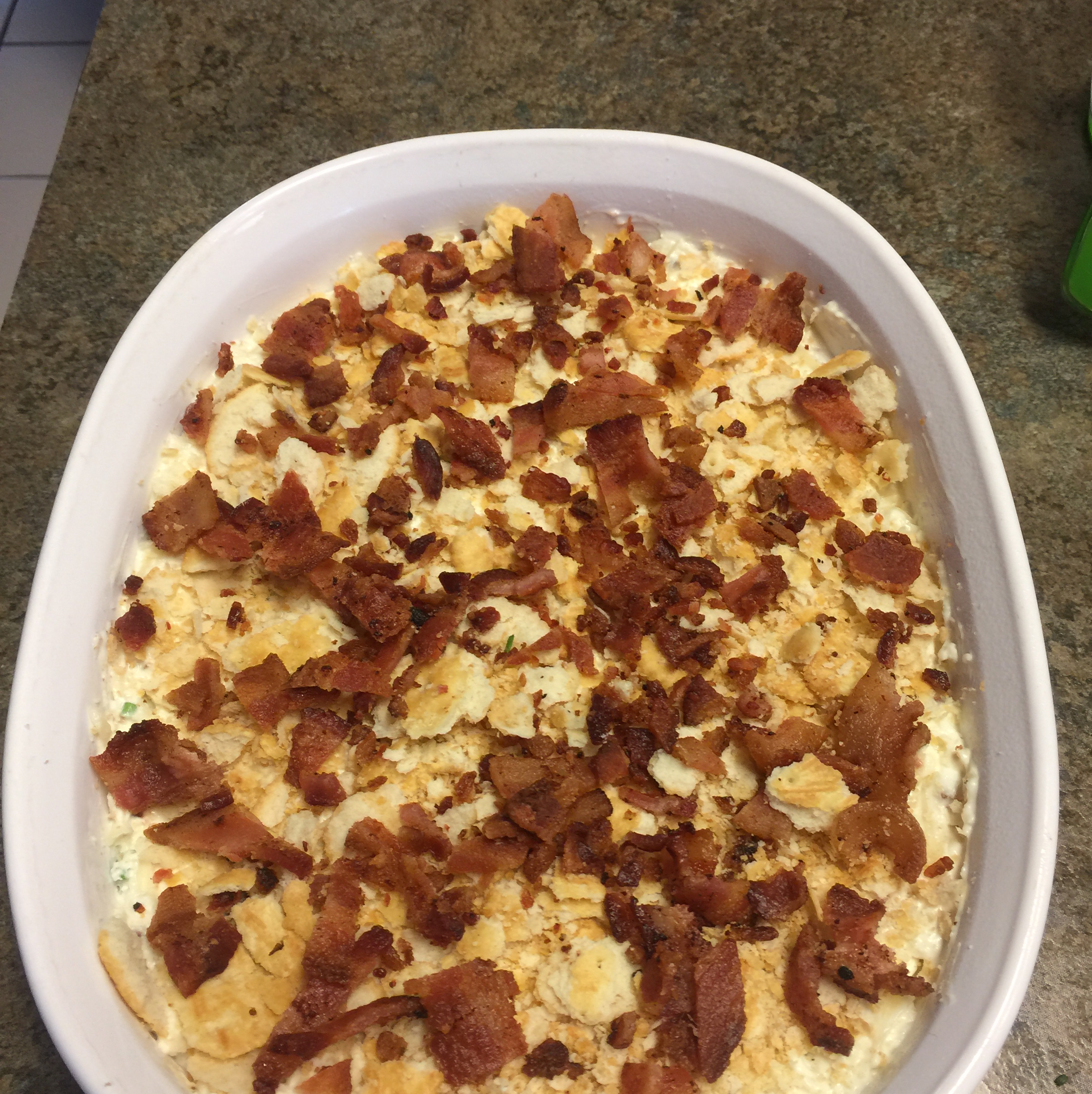 World's Best Bacon Cheese Dip Chris King