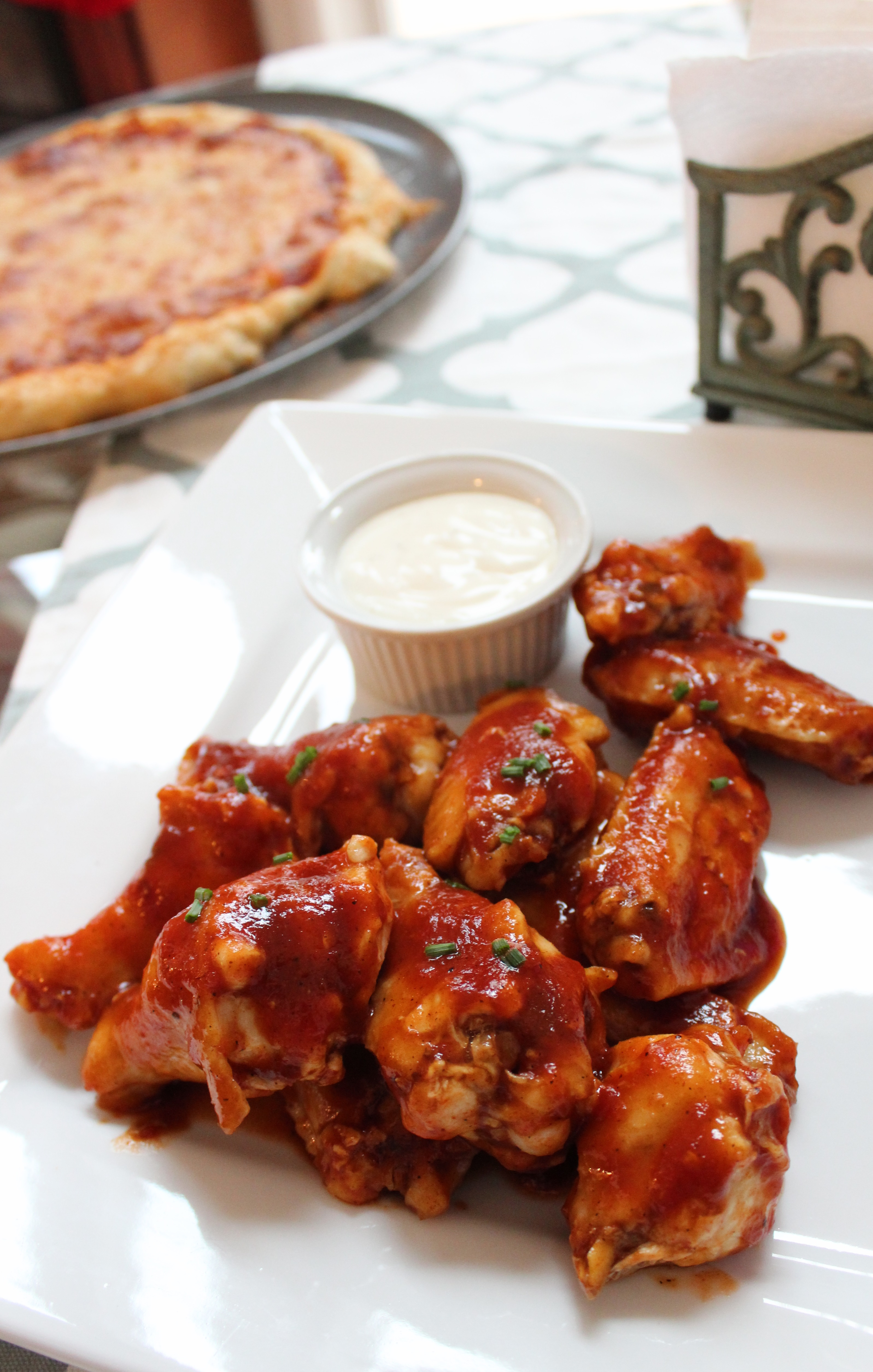 Sweet and Spicy BBQ Chicken Wings Chef Mo