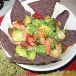 Avocado Shrimp Ceviche-Estillo Sarita