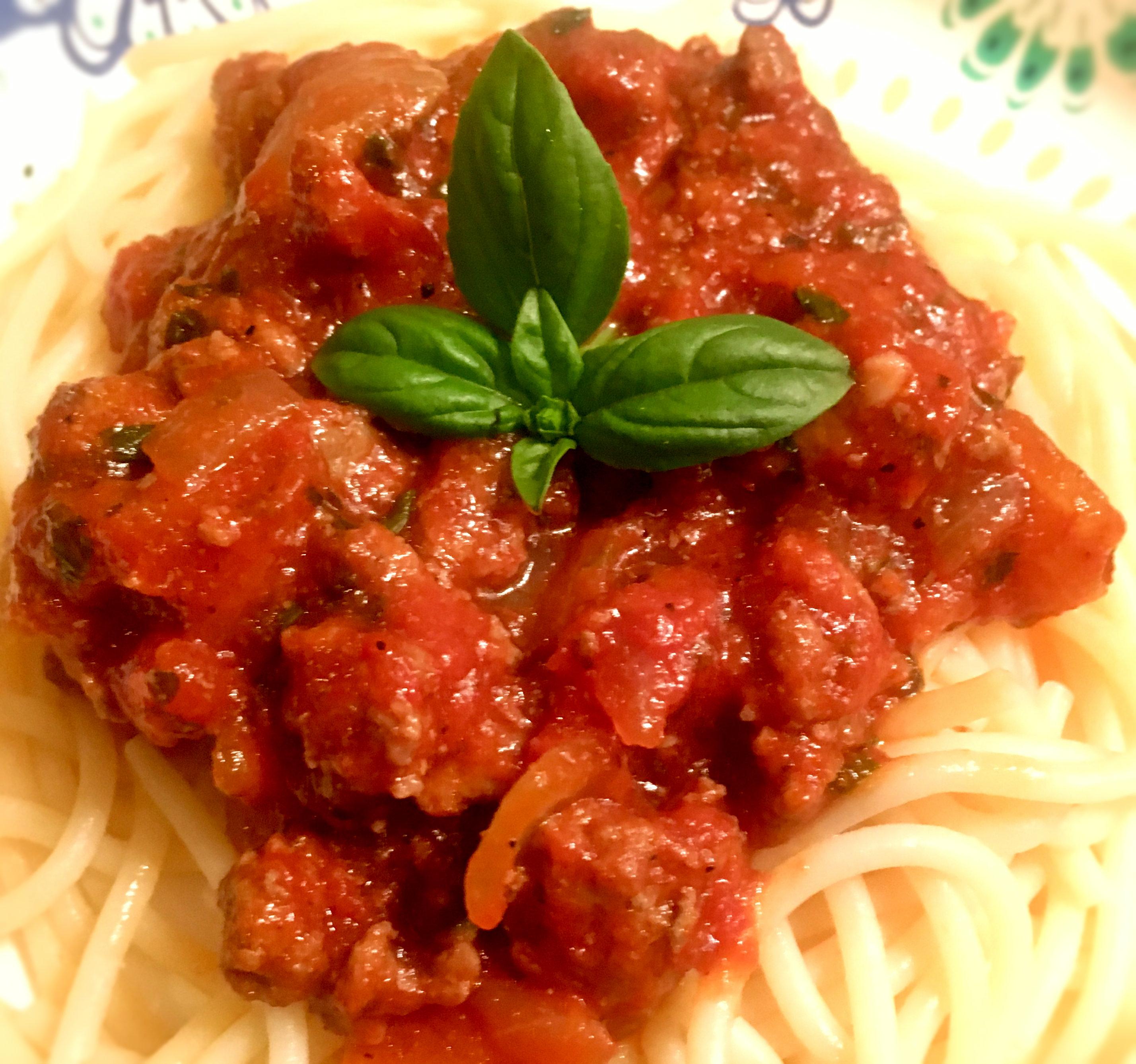 Mama Palomba's Spaghetti Sauce Yoly