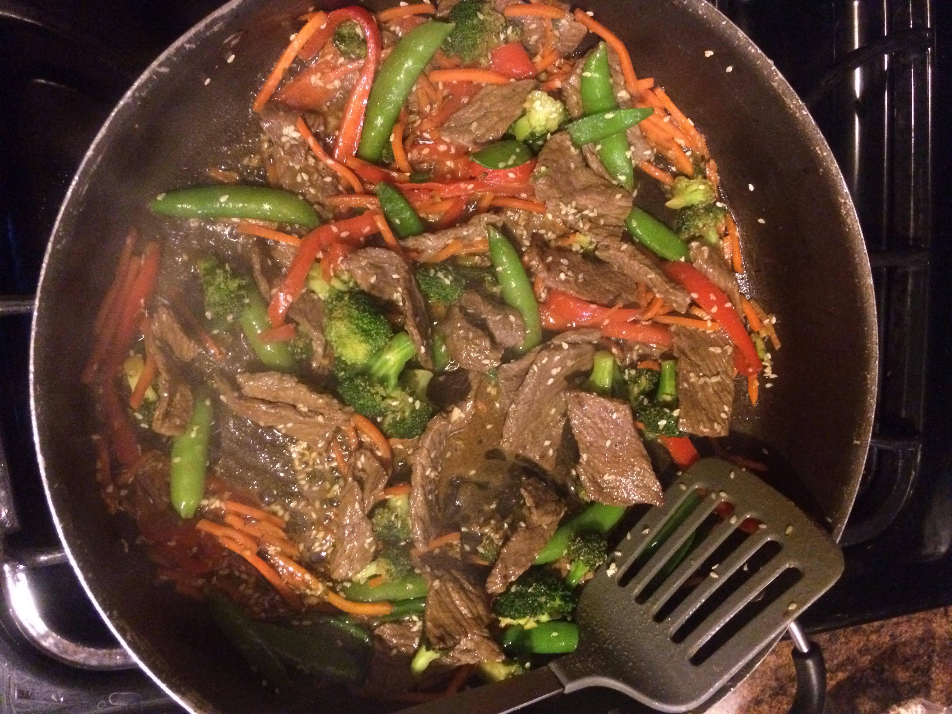 Quick Beef Stir-Fry Heather Bailey