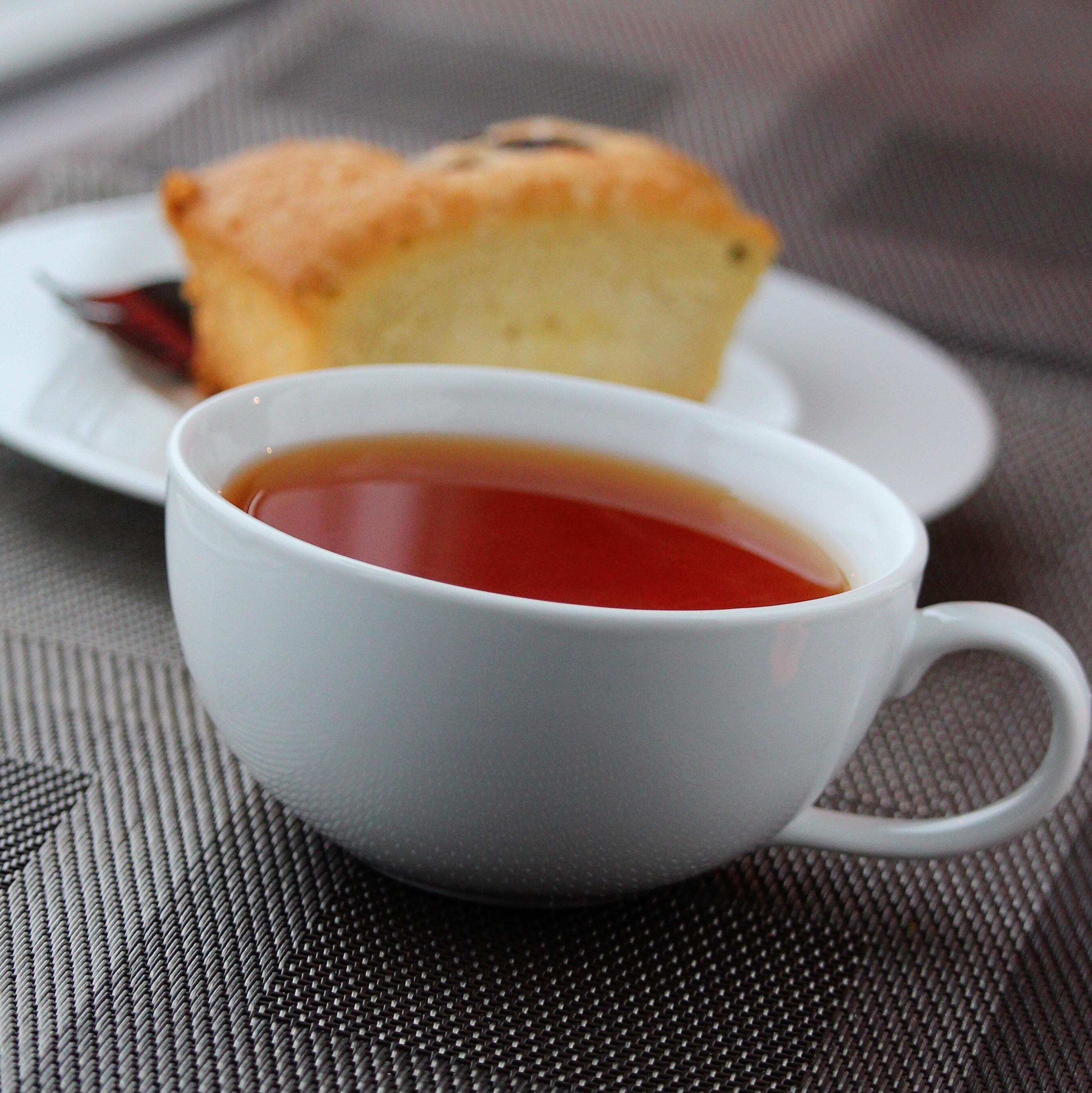 Soothing Hot Ginger Tea Buckwheat Queen