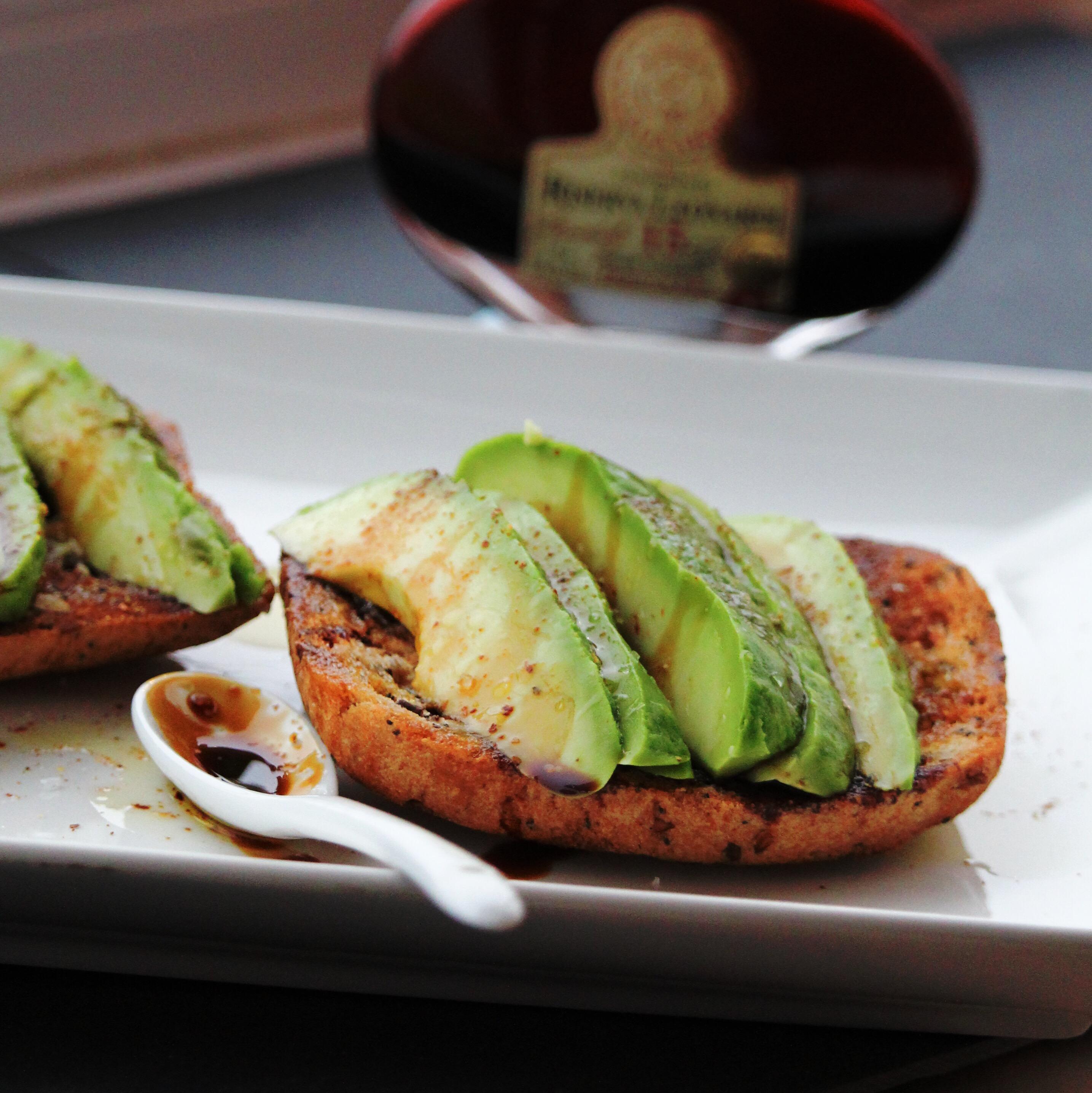Balsamic Avocado Toast