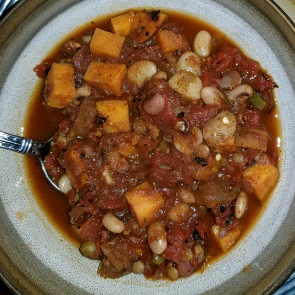 Vegan Sweet Potato Chili Ms Key