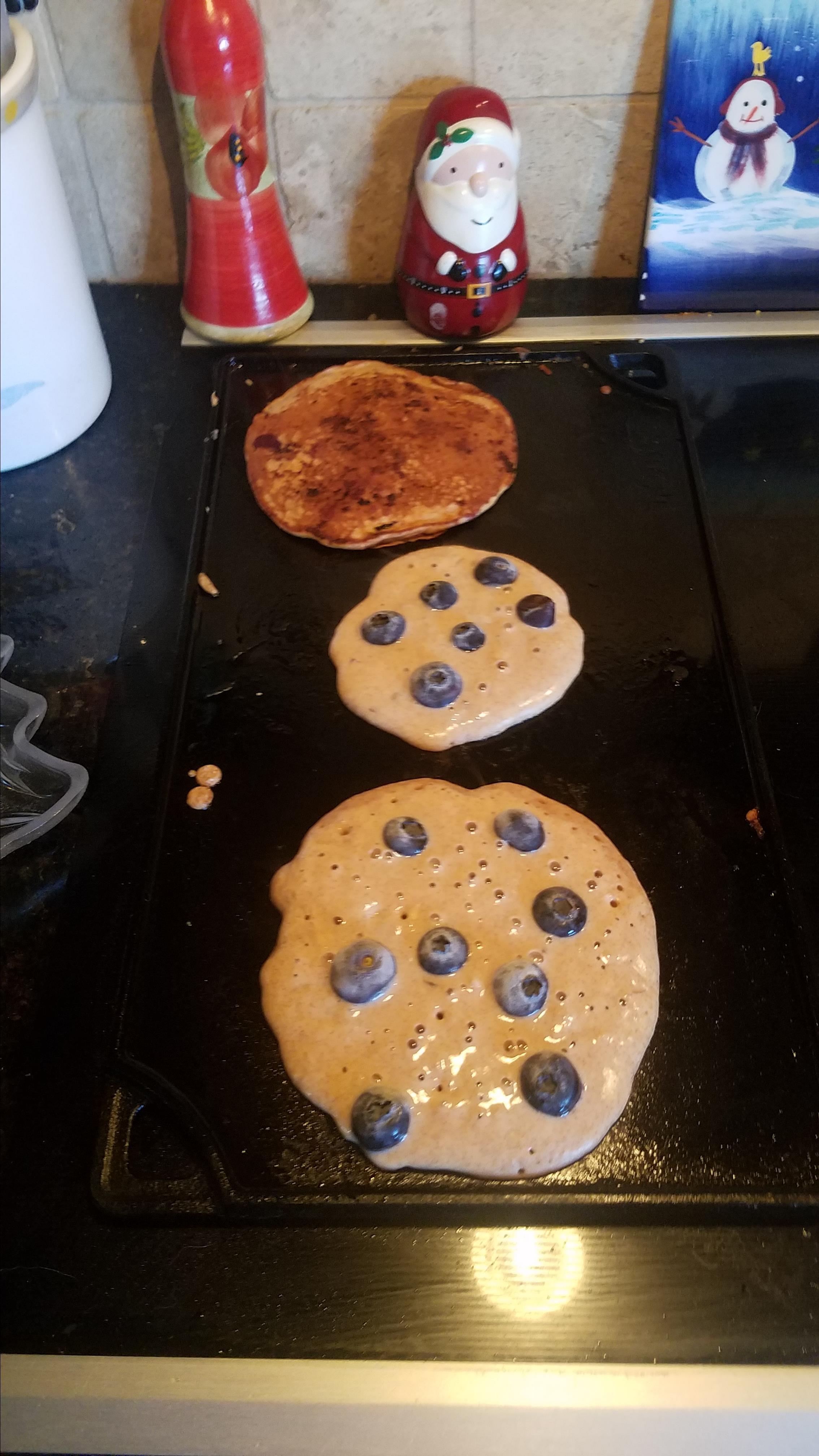 Granola Almond Pancakes Mark Tolliver