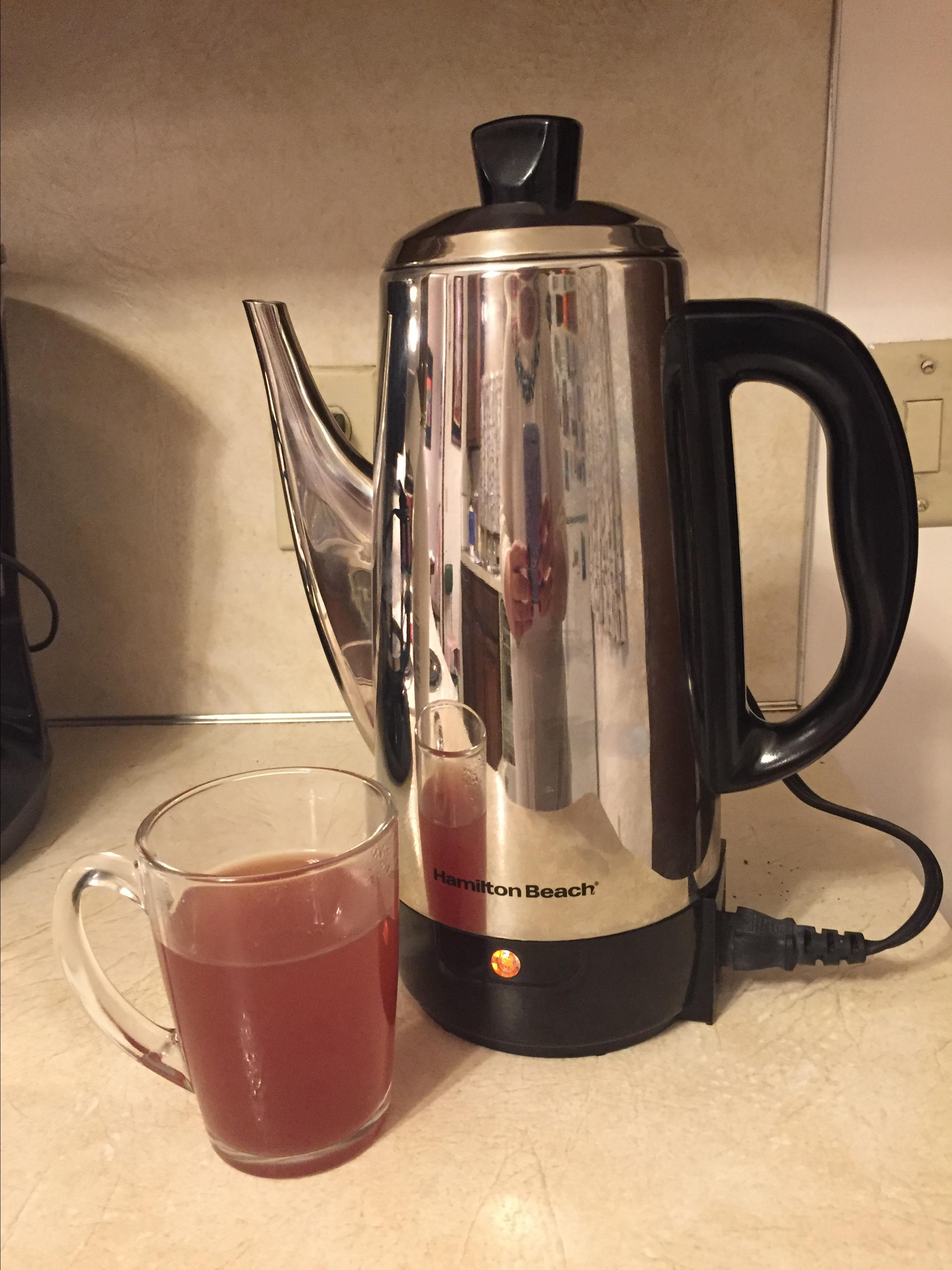 Spiced Percolator Punch