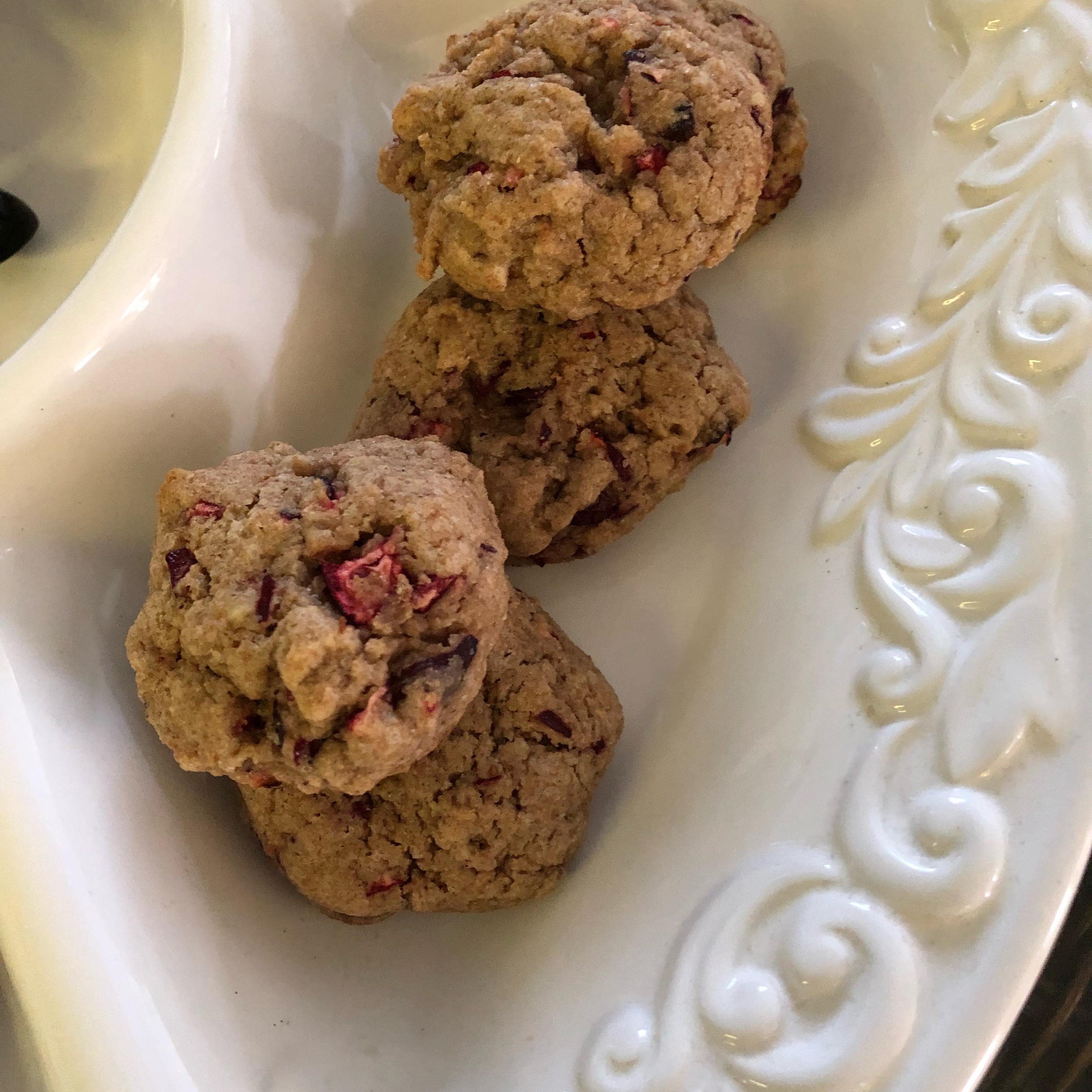 Cranberry Walnut Cookies Doula Faith