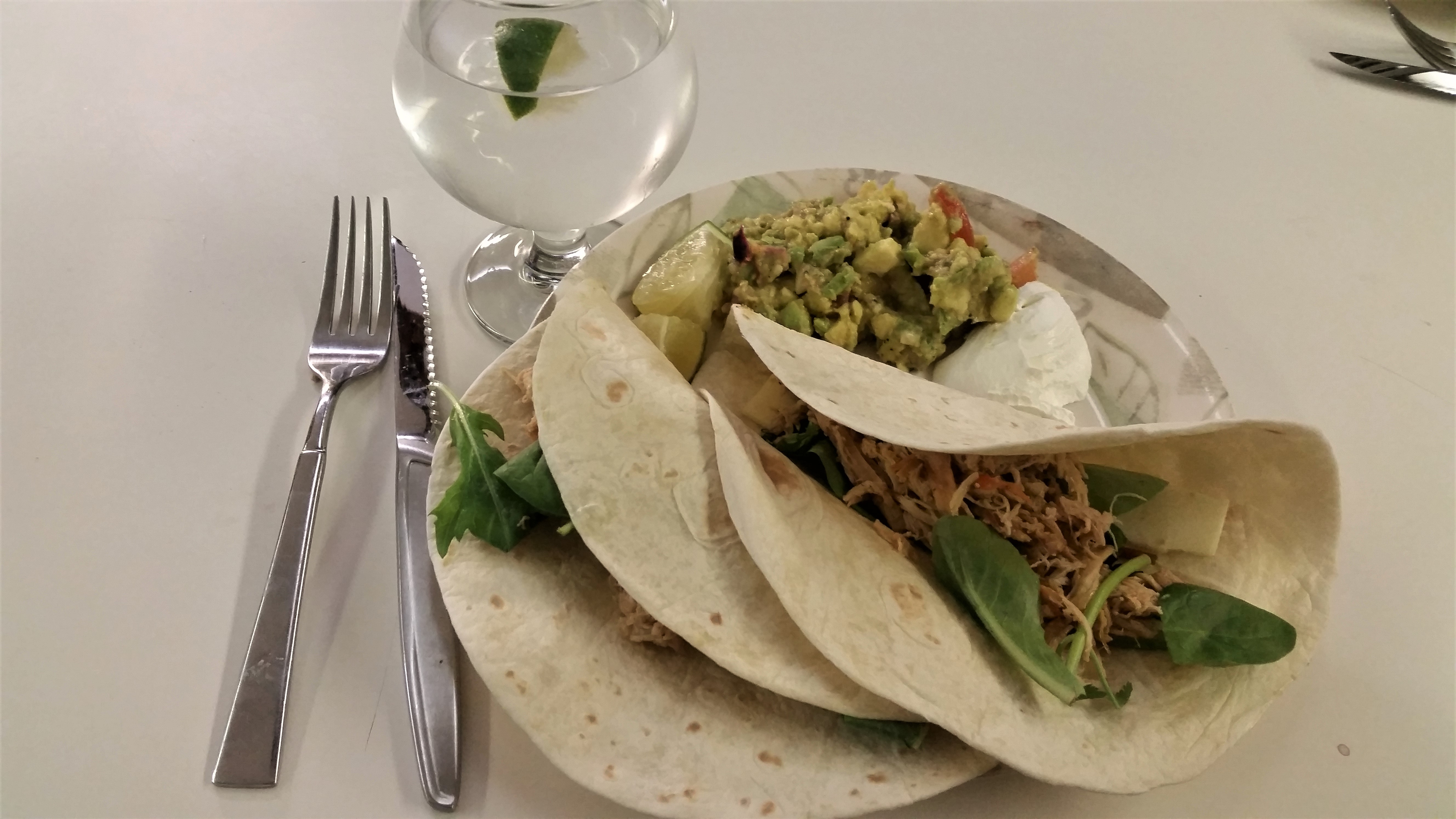 Slow Cooker Pulled Chicken Tacos