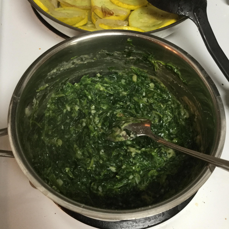 Creamed Spinach Kim Garmon Bishop