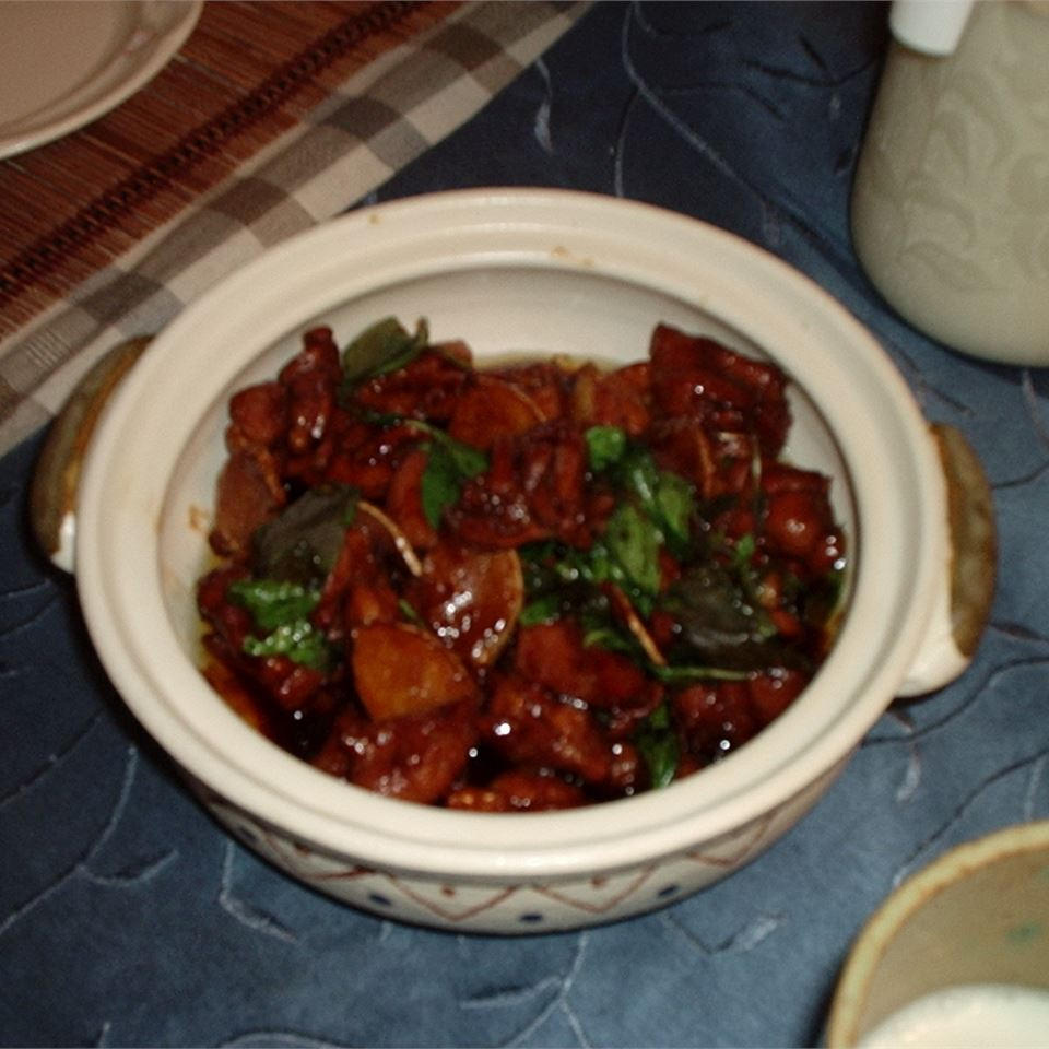 Taiwanese-Style Three Cup Chicken