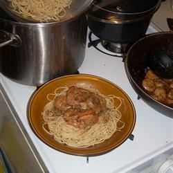 New Orleans Barbeque Shrimp cochetti