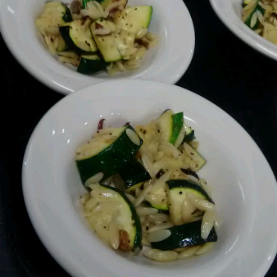 Orzo and Zucchini Salad Jered Tha Deuce Lee