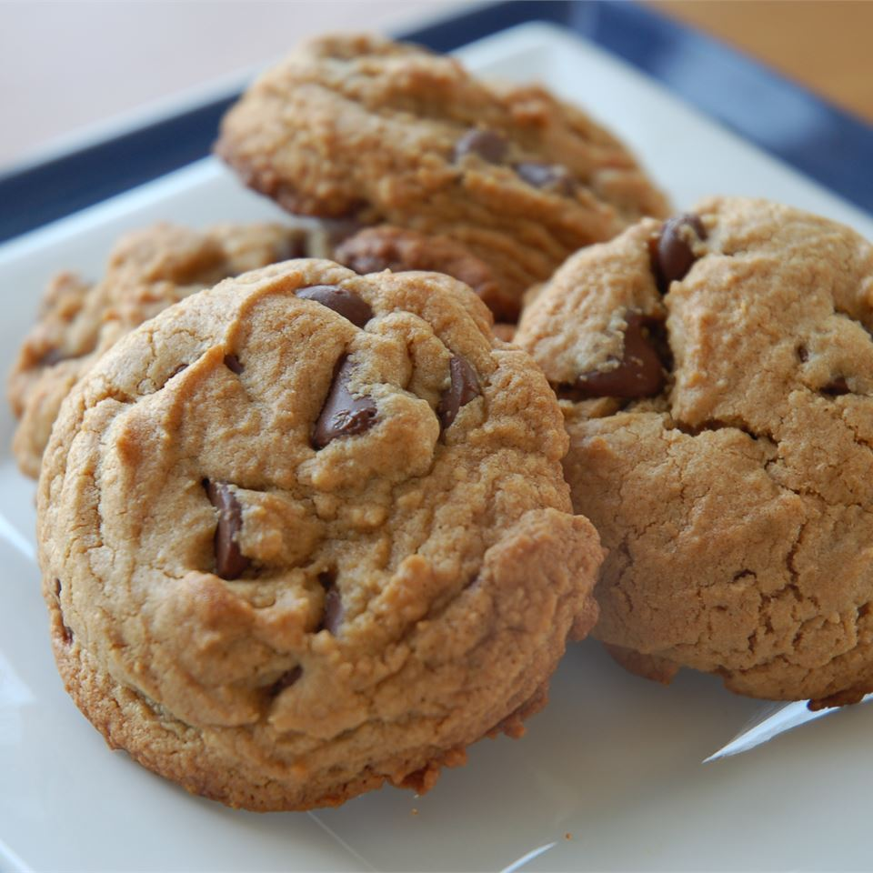 Chewy Peanut Butter Chocolate Chip Cookies Recipe Allrecipes