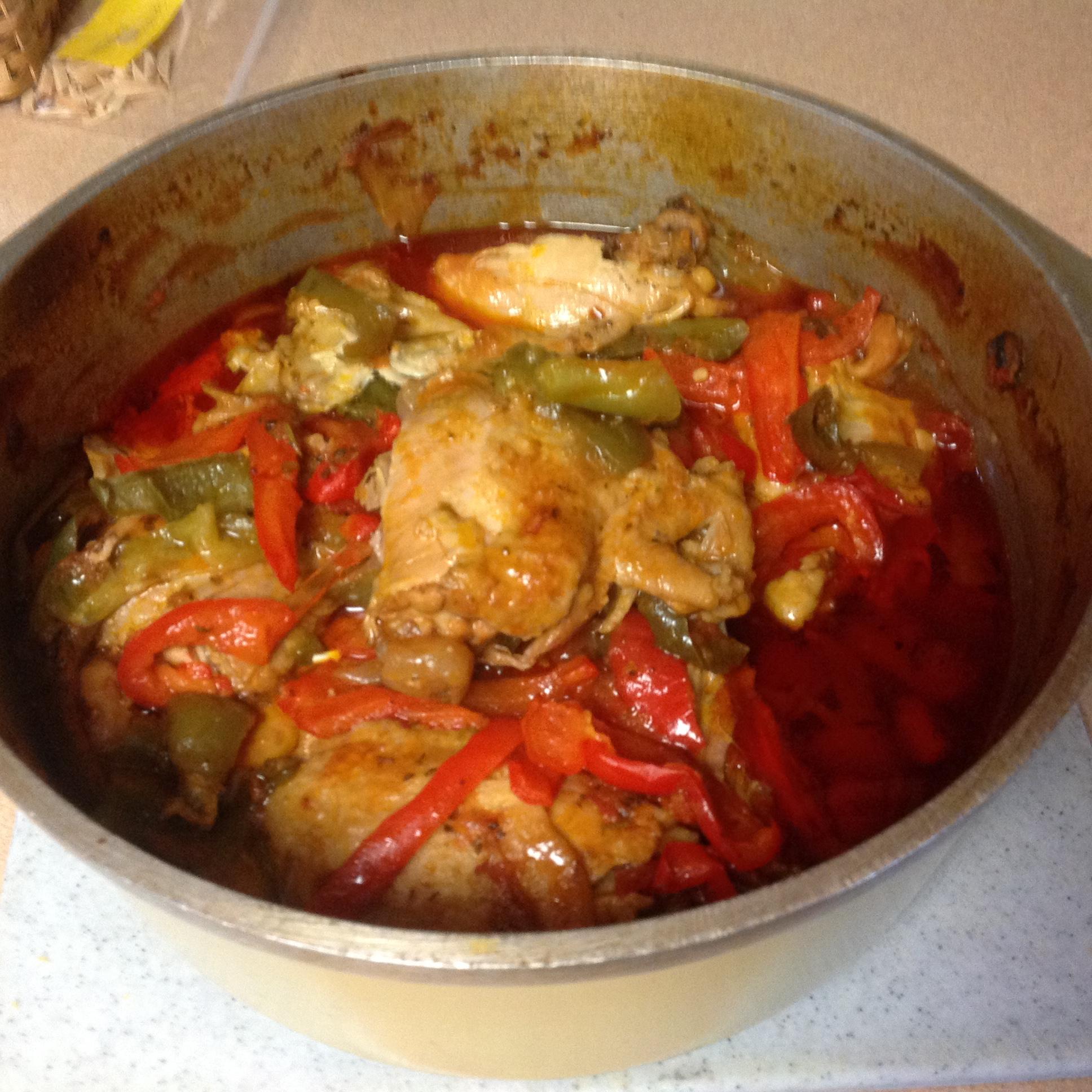Chef John's Chicken Cacciatore Patm
